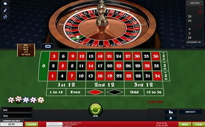 Premium European Roulette Table