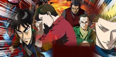 Os 5 principais animes de jogos de azar